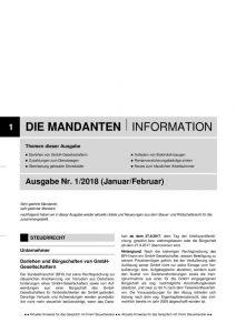 thumbnail of Mandanteninfo 1.2018