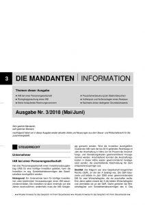 thumbnail of Mandanteninfo 3.2018