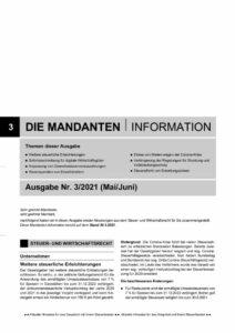 thumbnail of Mandanteninformation 3.2021